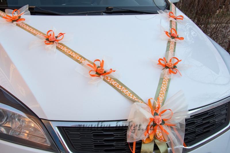 Украшения ленты на машину для свадьбы своими руками как сделать